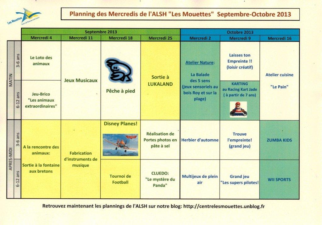 Planning des mercredis - septembre et octobre 2013 planning-alsh-sept-oct