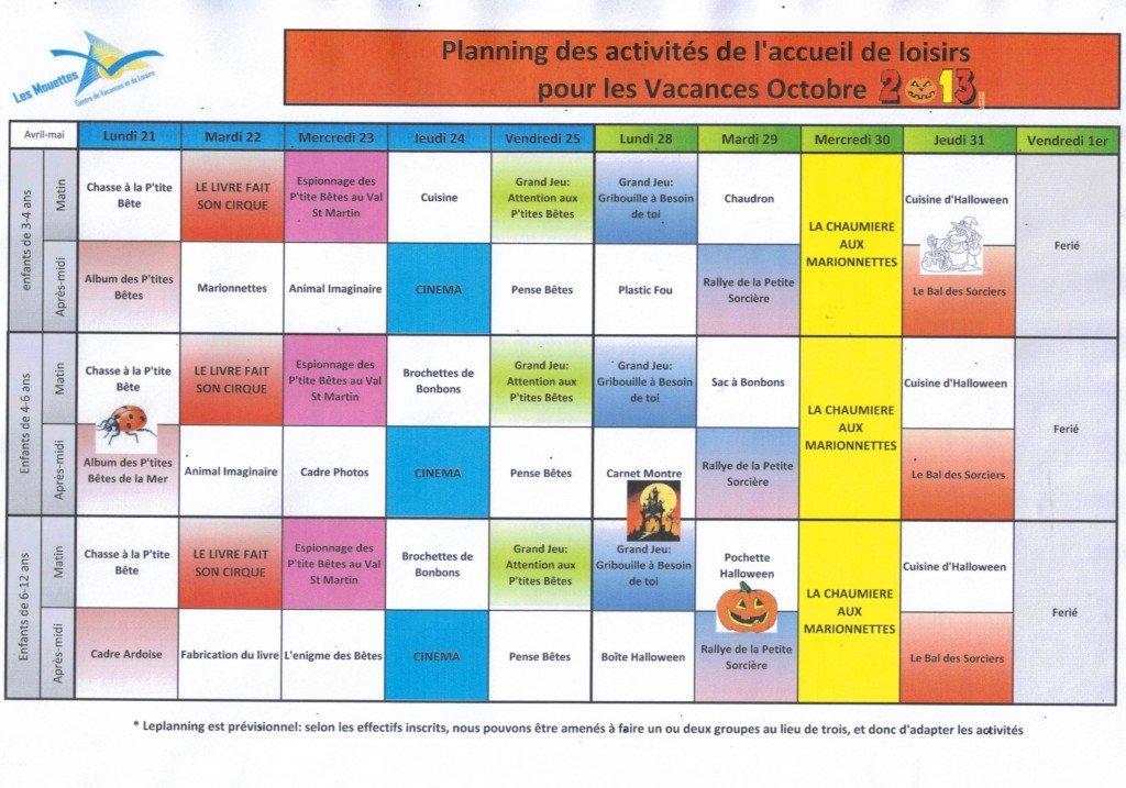 Planning des vacances de la Toussaint dans Vacances scolaires planning-vacances-toussaint-format-image