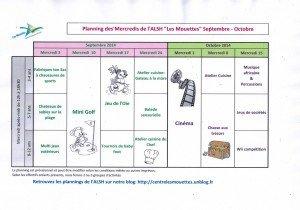 planning ALSH Sept-Oct